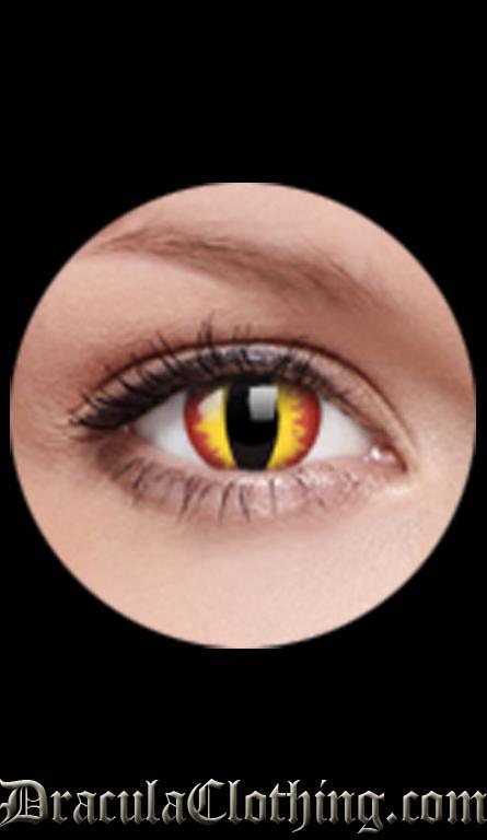 big eye contact lenses cool blue