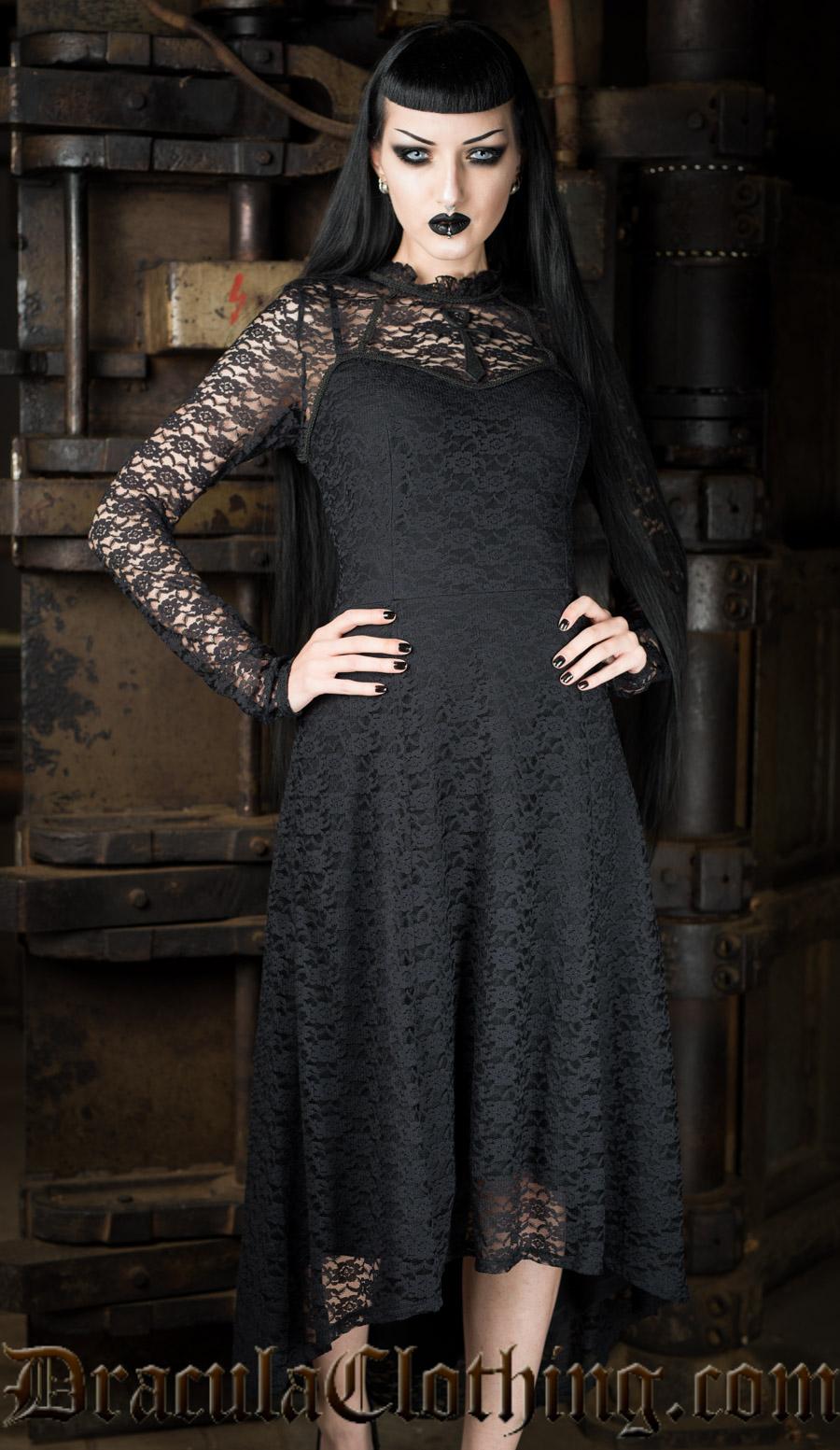 Ankh Lace Dress