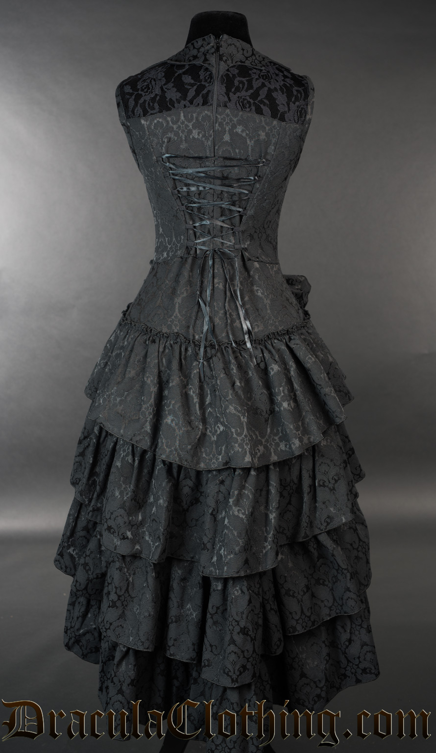 Bat Ruffle Dress