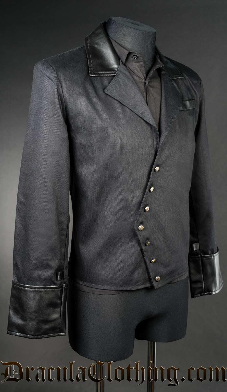 Black Asymmetrical Jacket
