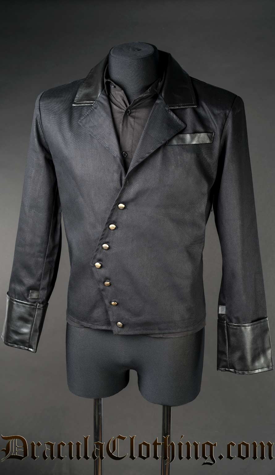 Black Asymmetrical Jacket