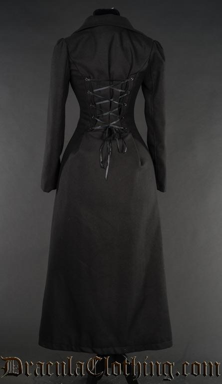 Black Baronetess Coat