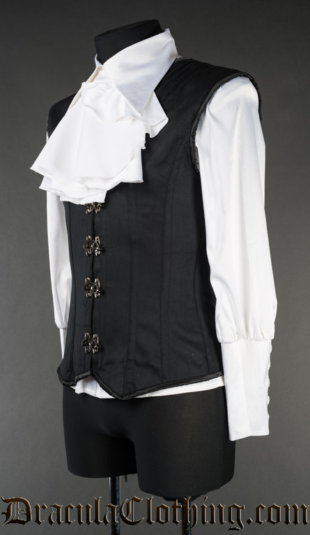 Black Cotton Clasp V-Shaper