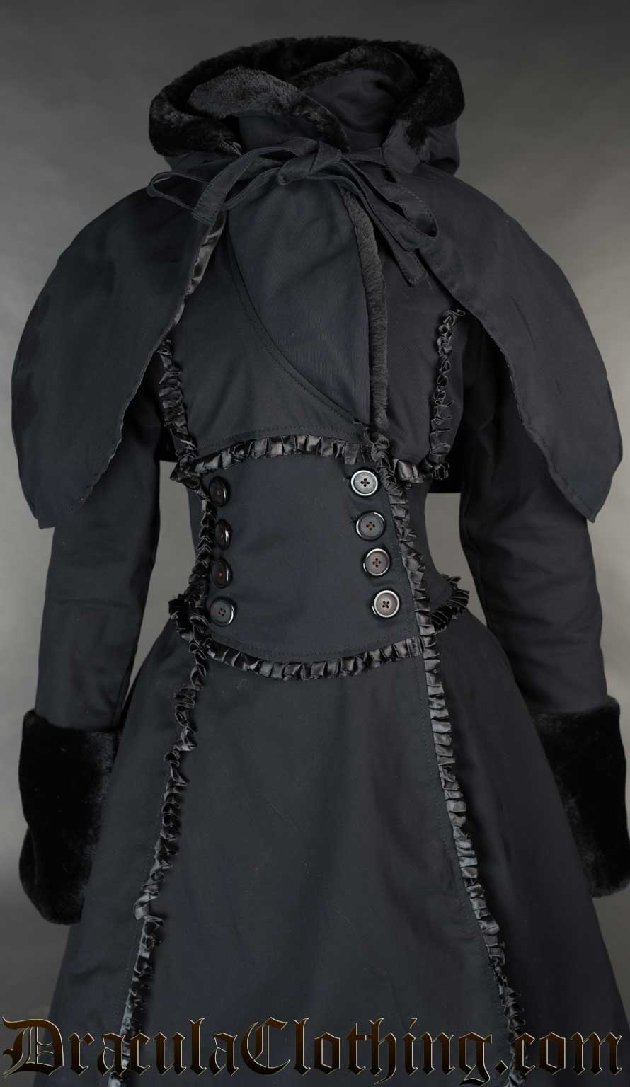 Black Cotton Hood