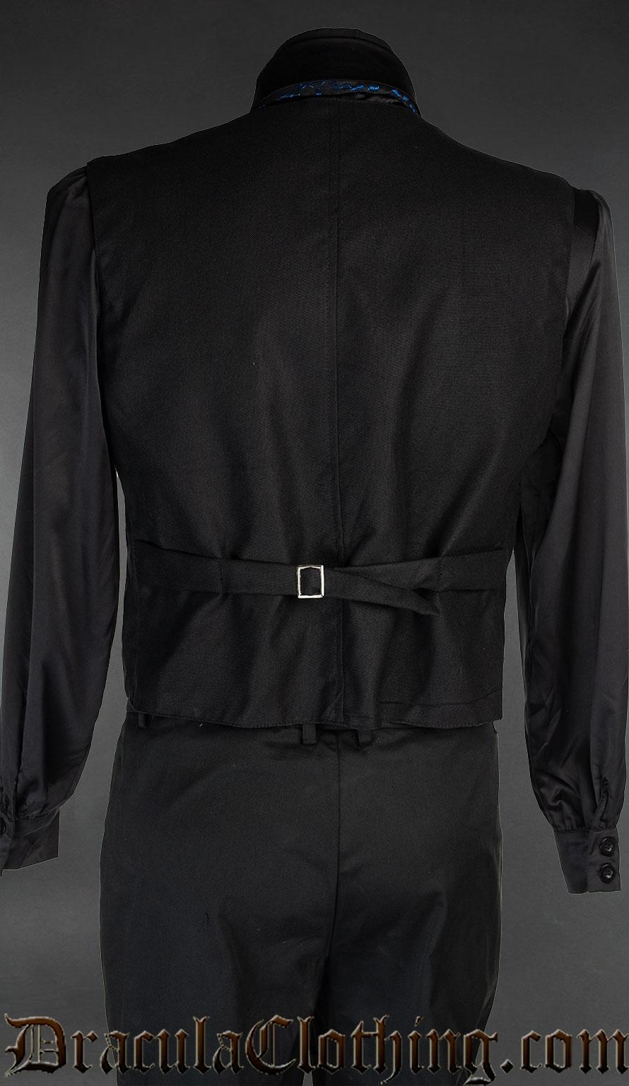 Black Cotton Vest