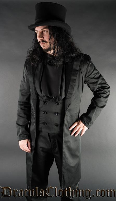 Black Dracula Coat