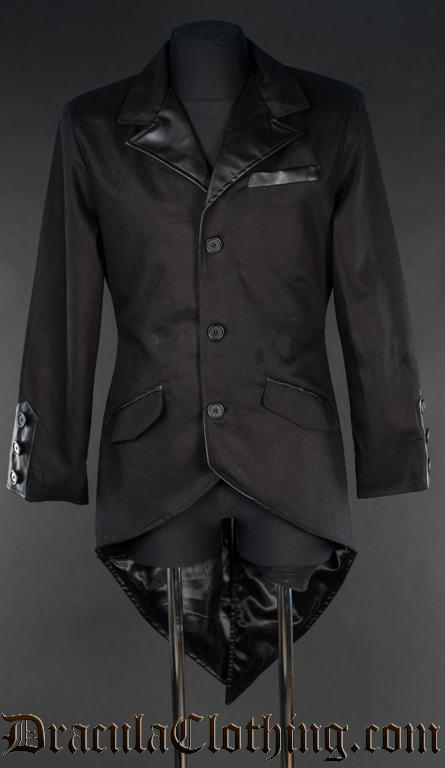 Black Steampunk Tailcoat