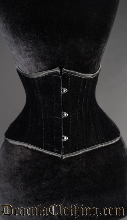 Black Velvet Extreme Waist Cincher