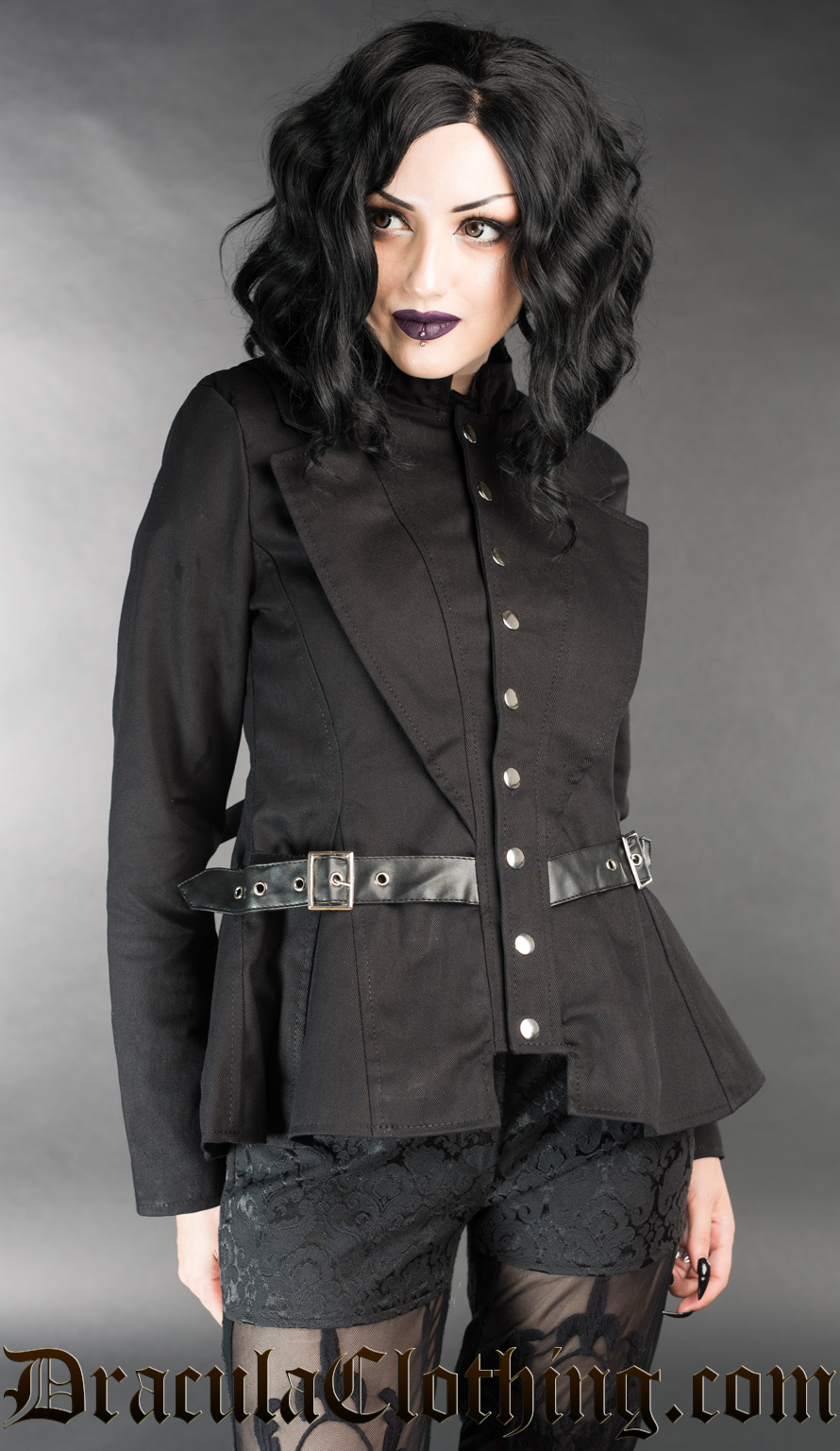 Black Vendetta Jacket