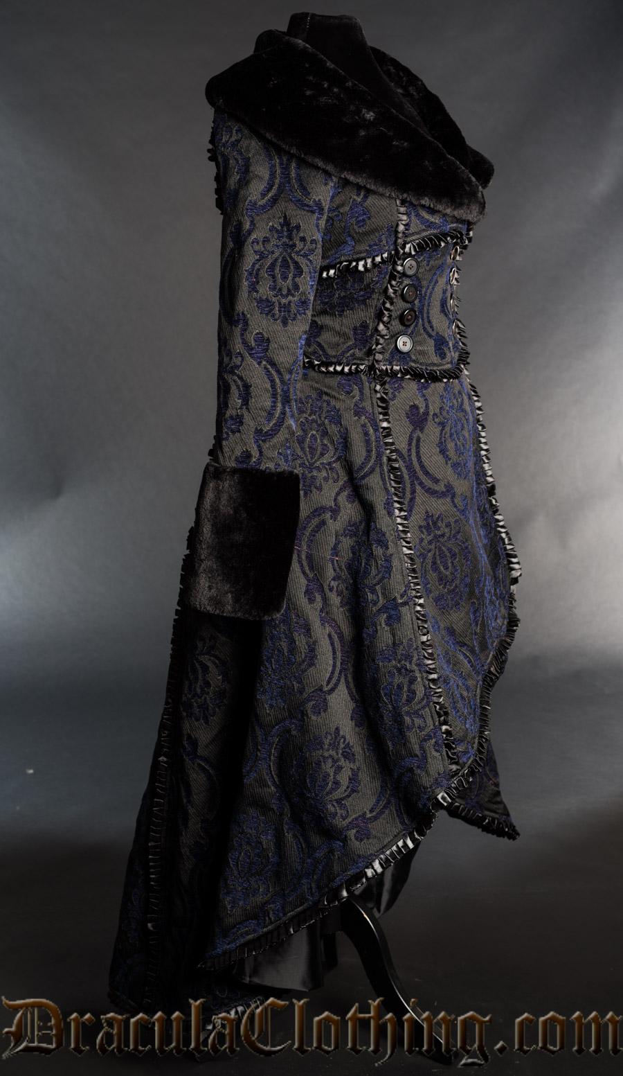 Blue Evil Queen Coat