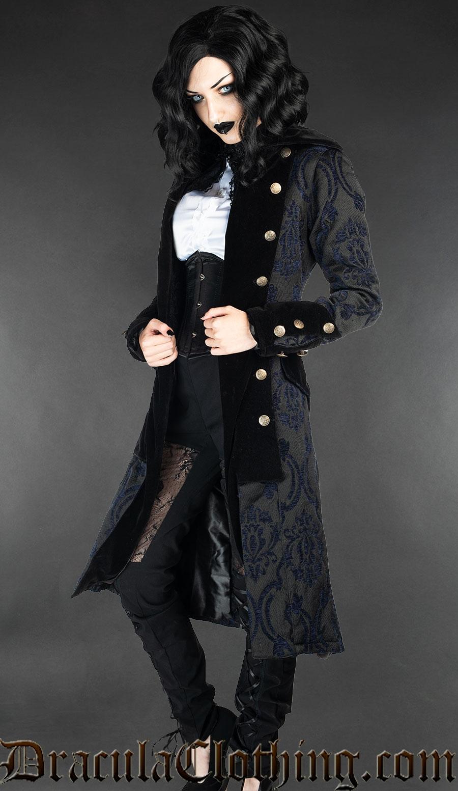 Blue Pirate Princess Coat