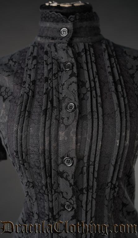 Brocade Edwardian Blouse
