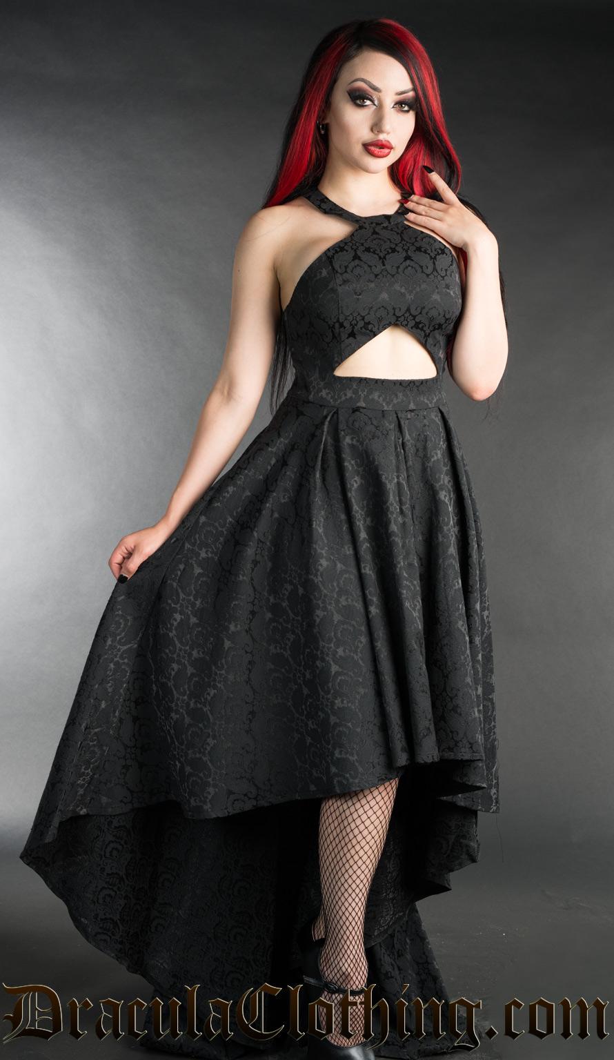 Brocade Evening Dress