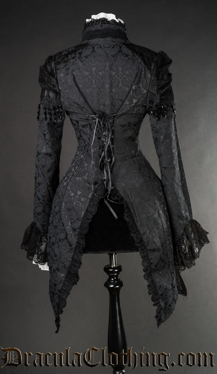 Brocade Lace Tailcoat