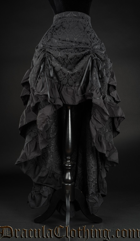 Brocade Layer Bustle Skirt