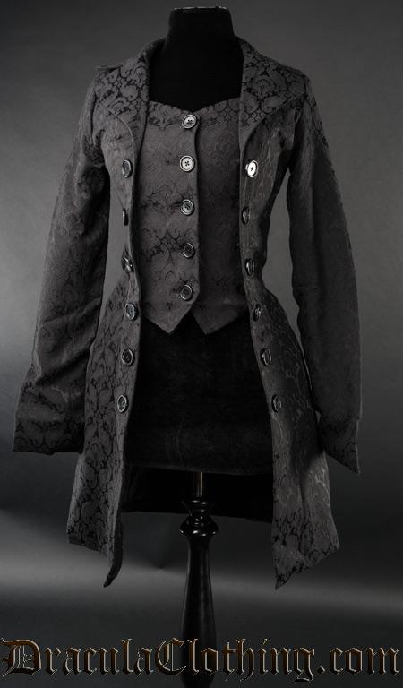 Brocade Pirate Coat