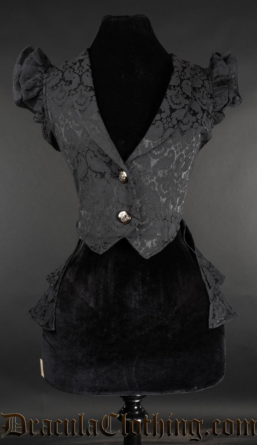 Brocade Tailcoat Vest