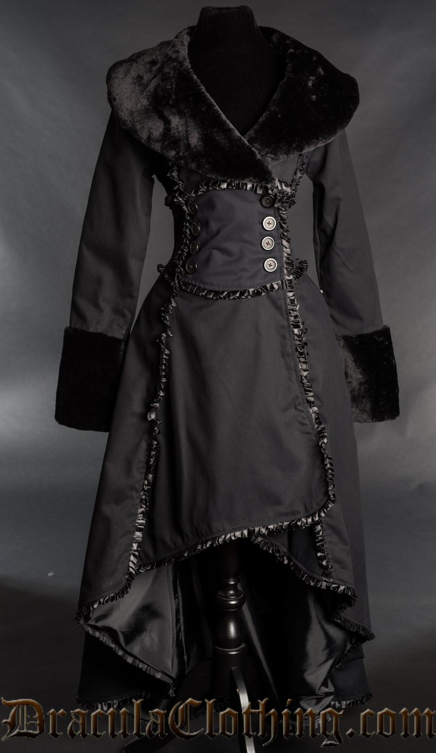 Cotton Evil Queen Coat