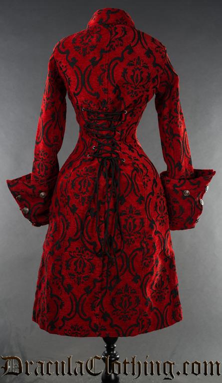 Crimson Female Admiral Coat