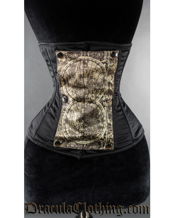 Black Panel Corset