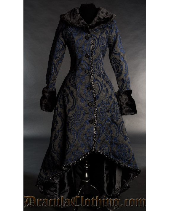 Blue Evil Princess Coat