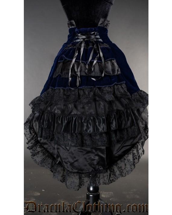 Blue Velvet EGL Skirt