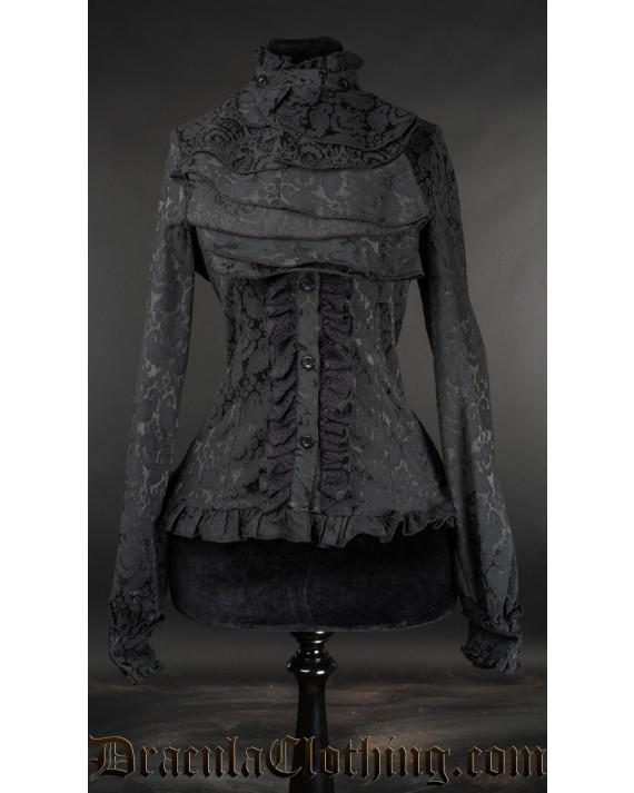 Brocade Victorian Blouse
