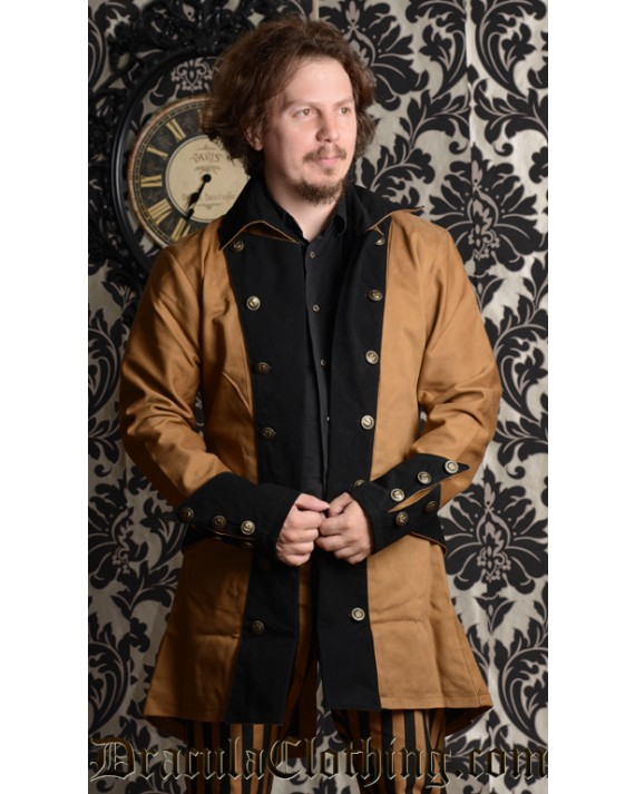 Brown Steampunk Jacket