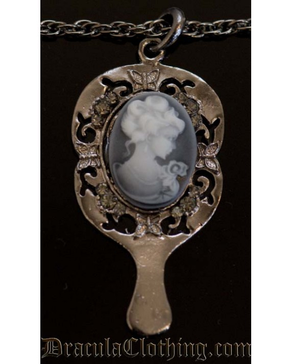 Cameo Butterfly Necklace