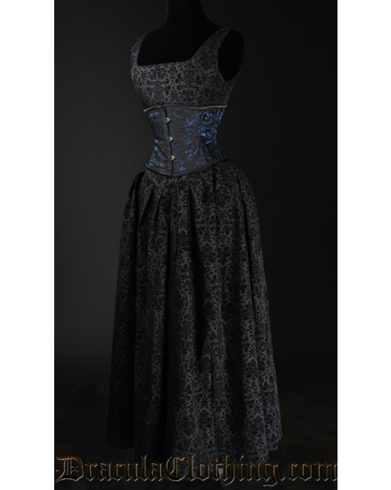 Elegant Brocade Dress