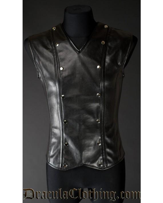 Faux Leather Aristocrat V-Shaper