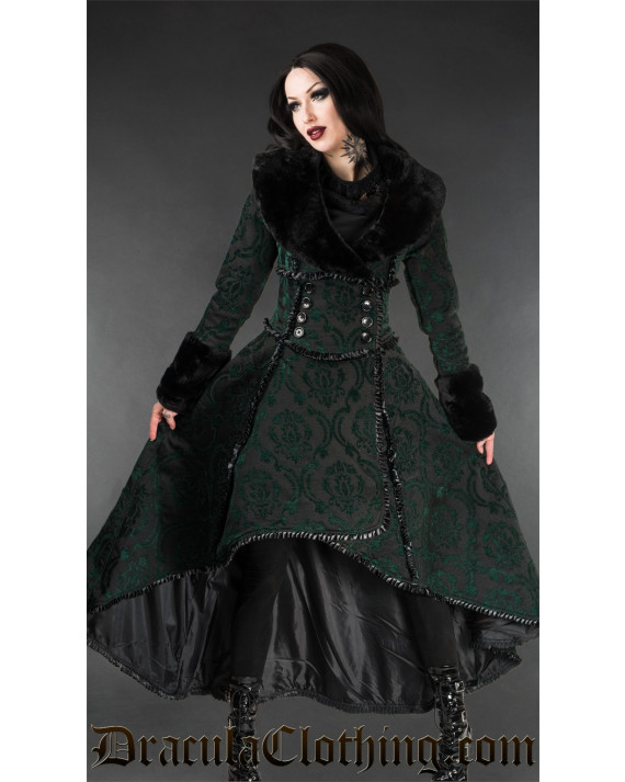 Green Evil Queen Coat