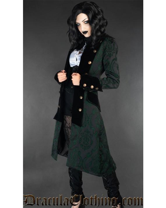 Green Pirate Princess Coat