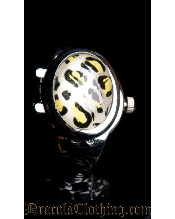 Leopard Ring Watch
