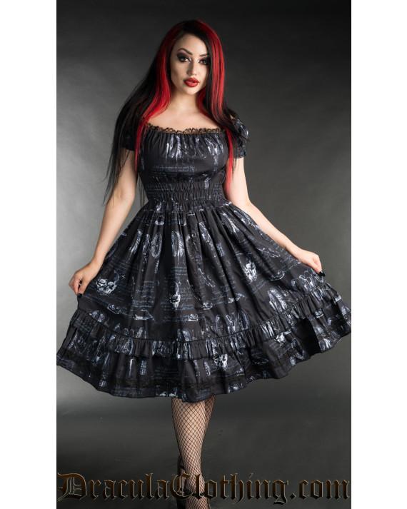 Leonardo Inventions Gothabilly Dress