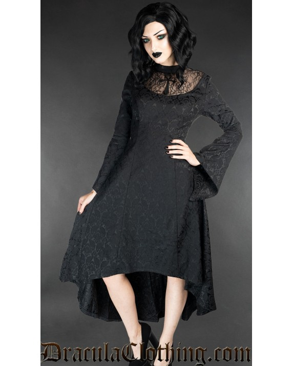 Long Brocade Ankh Dress