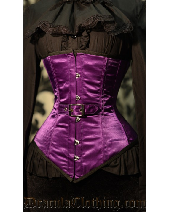 Purple Belt Underbust Corset