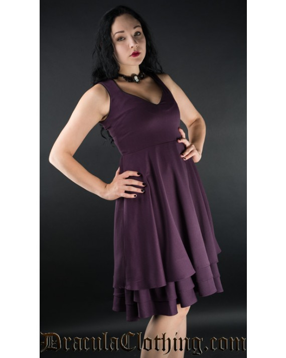 Purple Three Layer Dress