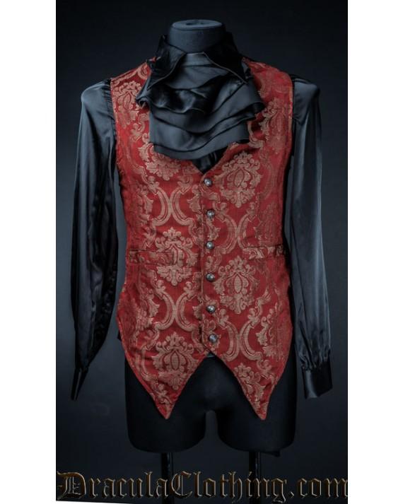 Red Royal Long Vest