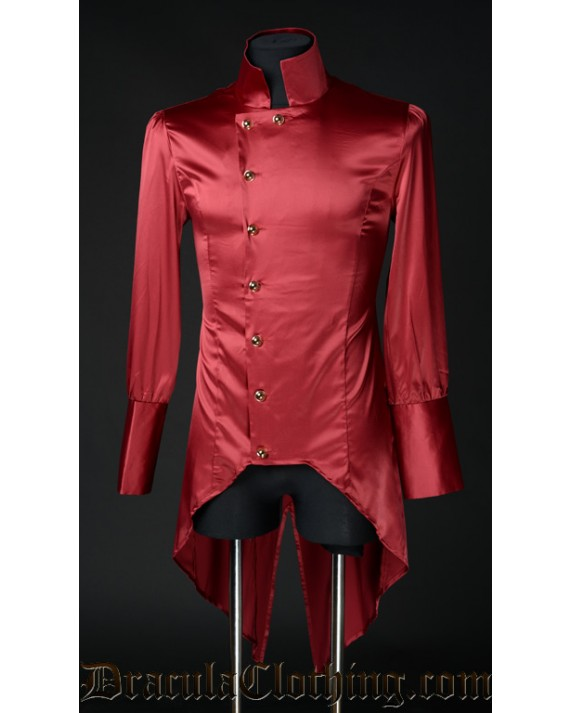 Red Satin Regal Shirt