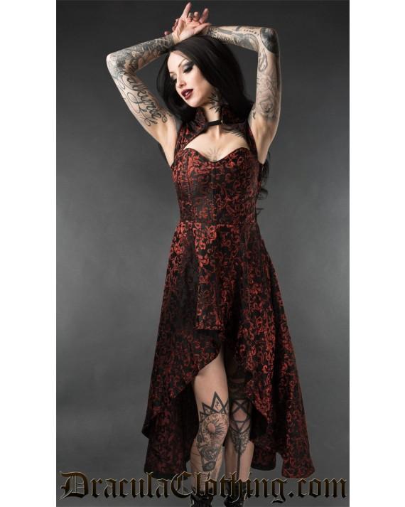 Ruby Steel Choker Dress