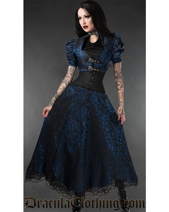 Sapphire Lace Skirt