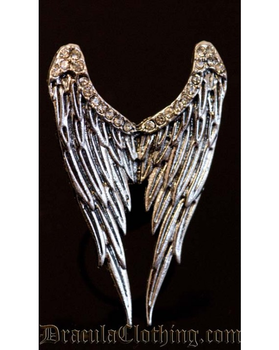 Silver Wings Ring