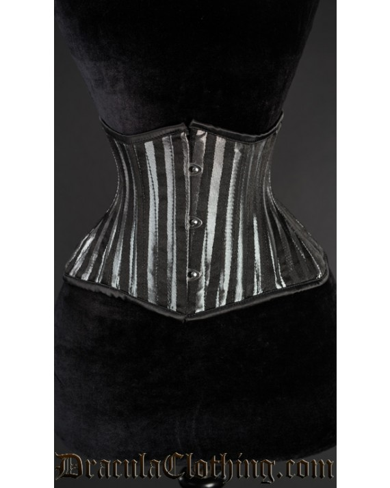 Silver Striped Extreme Waist Cincher