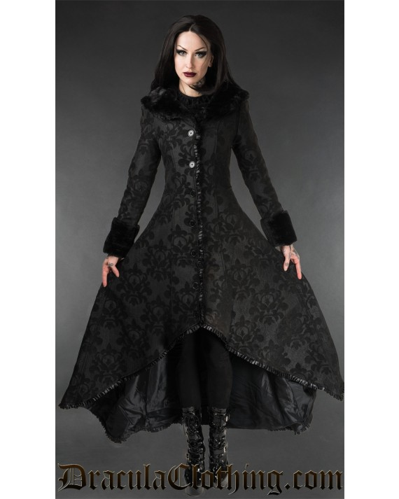 Skull Brocade Evil Princess Coat