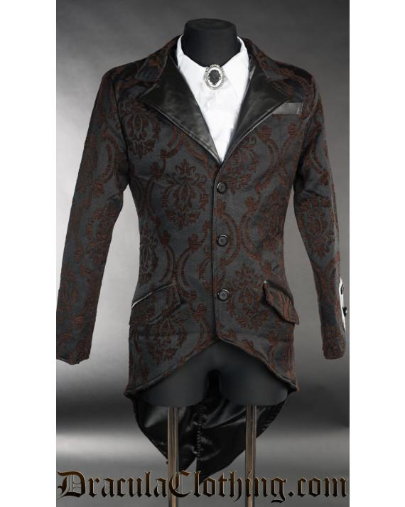 Steampunk Brocade Tailcoat