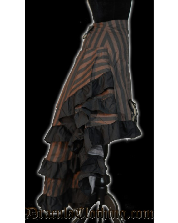 Steampunk Layer Bustle Skirt