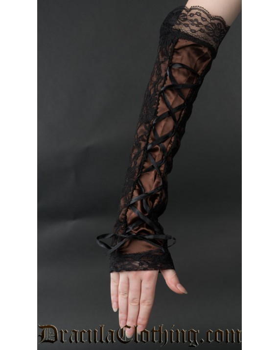 Long Steampunk Gloves
