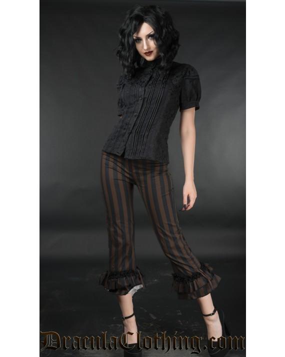 Steampunk Ruffle Pants