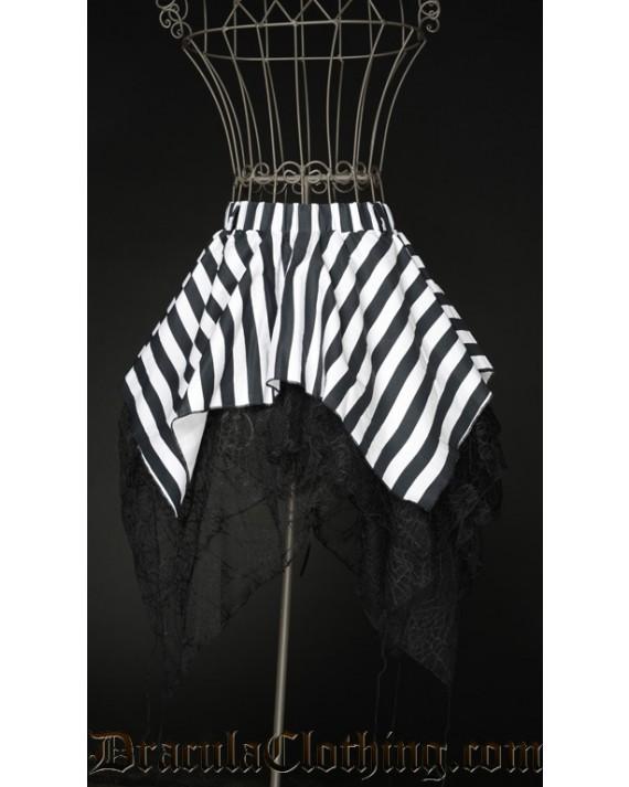 Striped Widow Skirt